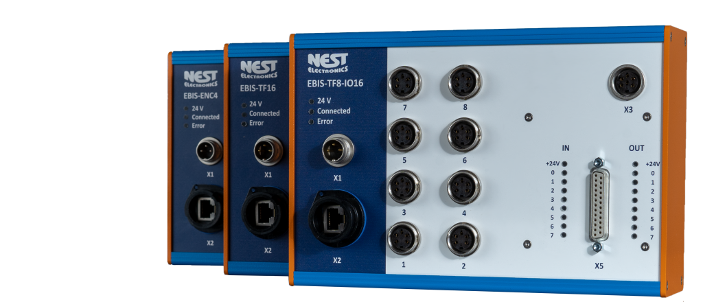 EBIS IoT Devices network-based measurement, data recording and testing