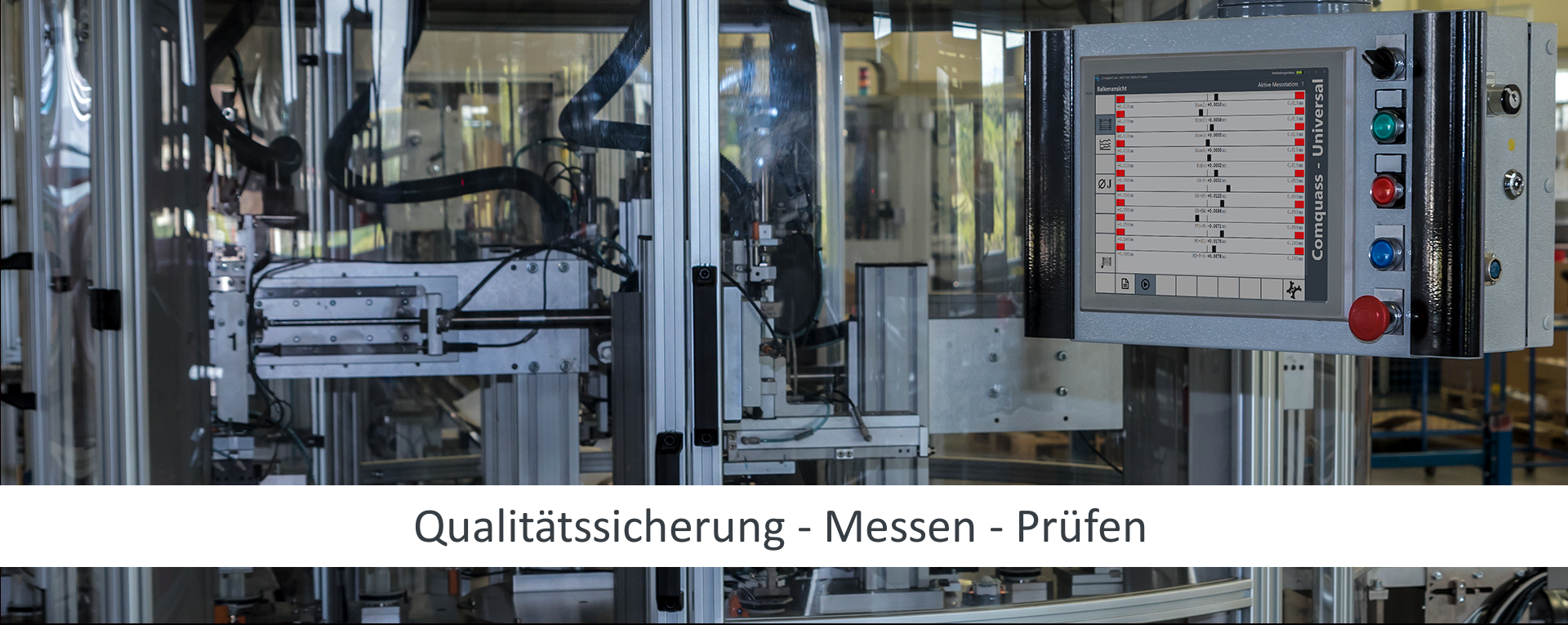 Messen und Prüfen zur Qualitätssicherung, Lösungen zur Messdatenerfassung mittels Interface EBIS IoT Devices und Messdatenanalyse mit Messsoftware Comquass.